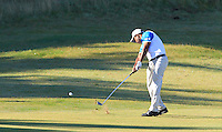 S.S.P Chawrasia (IND) on the 11th fairway during Round 1 of the 2015 Alfred Dunhill Links Championship at Kingsbarns in Scotland on 1/10/15.<br /> Picture: Thos Caffrey | Golffile