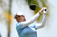 SINGAPORE - MARCH 03: Cristie Kerr of USA on the 13th tee during the final round of the HSBC Women's World Championship 2019 at Sentosa Golf Club - Tanjong Course, Singapore on March 03, 2019.<br /> .<br /> .<br /> .<br /> (Photo by: Naratip Golf Srisupab/SEALs Sports Images)<br /> .<br /> Any image use must include a mandatory credit line adjacent to the content which should read: Naratip Golf Srisupab/SEALs Sports Images