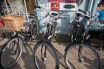 Batavus Dutch bicycles on sale, Aldeburgh, Suffolk, England