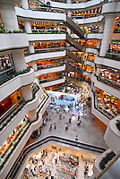 The Teem Plaza shopping centre in the Tien He district of Guangzhou, China. .27 May 2006