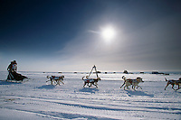 Kelly Williams @ Fort Davis Near Nome Alaska.2004 Iditarod