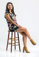 NWA Democrat-Gazette/JASON IVESTER<br /> Andrea Dominguez; photographed on Tuesday, July 5, 2016, in Springdale studio for La Prensa Libre