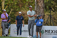 Tiger Woods (USA) watches his tee shot on 16 during round 3 of the World Golf Championships, Mexico, Club De Golf Chapultepec, Mexico City, Mexico. 2/23/2019.<br /> Picture: Golffile | Ken Murray<br /> <br /> <br /> All photo usage must carry mandatory copyright credit (© Golffile | Ken Murray)