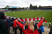 General View during Macclesfield Town vs Leyton Orient, Sky Bet EFL League 2 Football at the Moss Rose Stadium on 10th August 2019