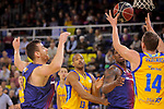 League ACB-ENDESA 2017/2018 - Game: 12.<br /> FC Barcelona Lassa vs Herbalife Gran Canaria: 77-88.<br /> Victor Claver, Eulis Baez, Kevin Seraphin &amp; Anzejs Pasecniks.