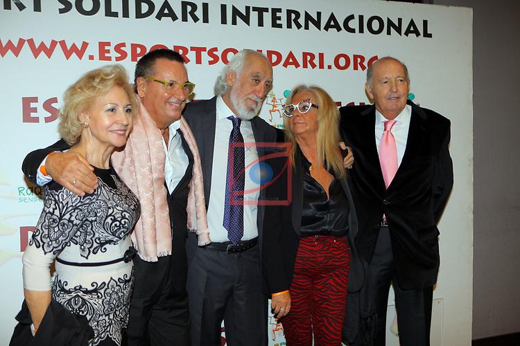 XIV Sopar Solidari de Nadal.<br /> Esport Solidari Internacional-ESI.<br /> Agustin Ramirez & Josep Maldonado con acompañantes.