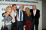 XIV Sopar Solidari de Nadal.<br /> Esport Solidari Internacional-ESI.<br /> Agustin Ramirez &amp; Josep Maldonado con acompa&ntilde;antes.