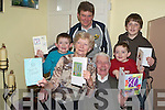 LEAP YEAR BIRTHDAY: Celebrating his 20th/80th birthday is Tom Crean from Knockglass Beg, Camp on the 29th of February pictured with his wife Kitty.    Copyright Kerry's Eye 2008