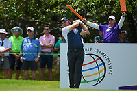 Eddie Pepperell (ENG) watches his tee shot on 13 during round 2 of the WGC FedEx St. Jude Invitational, TPC Southwind, Memphis, Tennessee, USA. 7/26/2019.<br /> Picture Ken Murray / Golffile.ie<br /> <br /> All photo usage must carry mandatory copyright credit (© Golffile | Ken Murray)