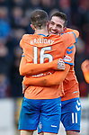 23.12.2018 St Johnstone v Rangers: Andy Halliday and Kyle Lafferty