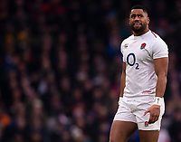 England's Joe Cokanasiga<br /> <br /> Photographer Bob Bradford/CameraSport<br /> <br /> 2018 Quilter Internationals - England v Australia - Saturday 24th November 2018 - Twickenham - London<br /> <br /> World Copyright &copy; 2018 CameraSport. All rights reserved. 43 Linden Ave. Countesthorpe. Leicester. England. LE8 5PG - Tel: +44 (0) 116 277 4147 - admin@camerasport.com - www.camerasport.com