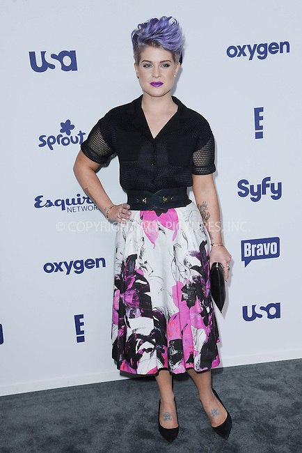 WWW.ACEPIXS.COM<br /> May 15, 2014 New York City<br /> <br /> Kelly Osbourne attending NBCUniversal Cable Entertainment Upfront at the Javits Center in New York City on Thursday, May 15, 2014.<br /> <br /> Please byline: Kristin Callahan/ACE Pictures<br /> <br /> ACEPIXS.COM<br /> <br /> Tel: (212) 243 8787 or (646) 769 0430<br /> e-mail: info@acepixs.com<br /> web: http://www.acepixs.com