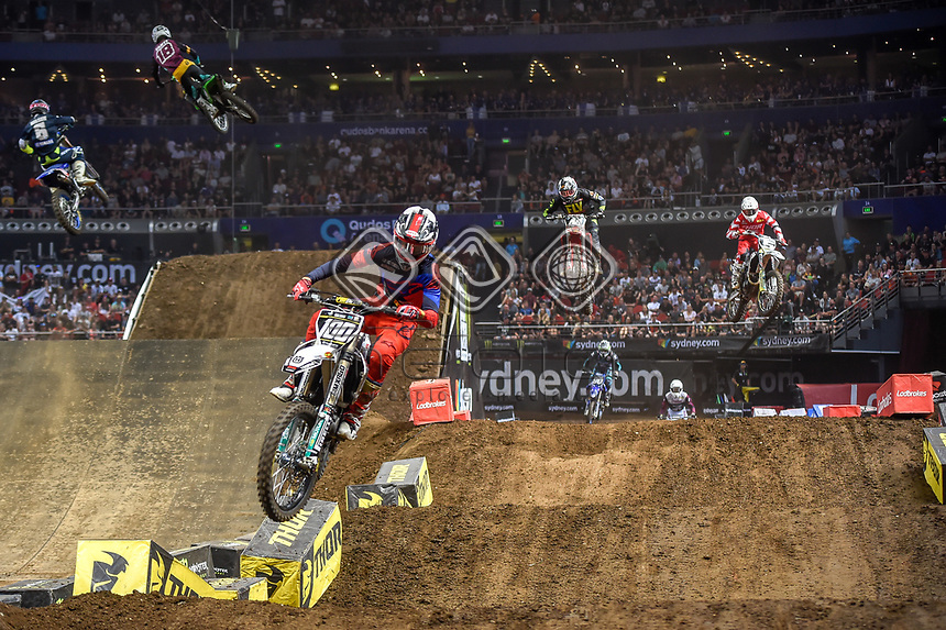SX 2 / Jy Roberts<br /> 2018 SX Open - Sydney <br /> Australian Supercross Championships<br /> Qudos Bank Area / Sydney Aus<br /> Saturday Nov 10th 2018<br /> © Sport the library/ Jeff Crow / AME