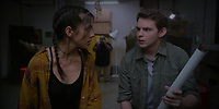 Blood Fest (2018) <br /> Seychelle Gabriel, Robbie Kay<br /> *Filmstill - Editorial Use Only*<br /> CAP/MFS<br /> Image supplied by Capital Pictures