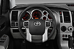 Car pictures of steering wheel view of a 2014 Toyota Sequoia SR5 5 Door SUV