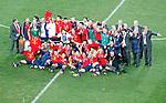 Spain football national team celebrate Soccer, Football - 2010 FIFA World Cup - Johannesburg, South Africa, Sunday, July, 11, 2010. Final match, Netherlands vs Spain, Soccer City Stadium (credit & photo: Pedja Milosavljevic / +381 64 1260 959 / thepedja@gmail.com / STARSPORT )
