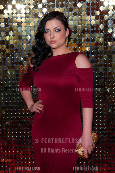 Shona McCarty arriving for the 2014 British Soap Awards, at the Hackney Empire, London. 24/05/2014 Picture by: Dave Norton / Featureflash