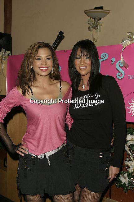 Natashia Williams &amp; Sarah B.<br />The QT Line Launch and Charity Event<br />Club Level One<br />Beverly Hills, CA, USA <br />Sunday, December 7,  2003<br />Photo By Celebrityvibe.com /Photovibe.com