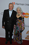 BEVERLY HILLS, CA. - January 30: Astronaut Buzz Aldrin and Lois Aldrin arrive at the 52nd Annual GRAMMY Awards - Salute To Icons Honoring Doug Morris held at The Beverly Hilton Hotel on January 30, 2010 in Beverly Hills, California.