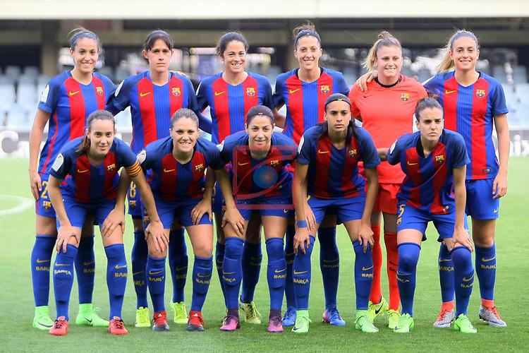 Spanish Women's Football League Iberdrola 2016/17 - Game: 21.<br /> FC Barcelona vs RCD Espanyol: 5-0.