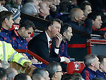 Louis van Gaal manager of Manchester United looks on during the game - English Premier League - Manchester Utd vs Chelsea - Old Trafford Stadium - Manchester - England - 28th December 2015 - Picture Simon Bellis/Sportimage