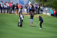 Charles Howell III (USA) hits his approach shot on 13 during round 4 of the World Golf Championships, Dell Technologies Match Play, Austin Country Club, Austin, Texas, USA. 3/25/2017.<br /> Picture: Golffile | Ken Murray<br /> <br /> <br /> All photo usage must carry mandatory copyright credit (&copy; Golffile | Ken Murray)