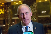 United States Senator Dan Coats (Republican of Indiana) speaks briefly with the press following his meeting with US President-elect Donald Trump, at Trump Tower in New York, New York, USA on November 30, 2016. <br /> Credit: Albin Lohr-Jones / Pool via CNP