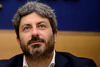Roma, 14 Luglio 2017<br /> Roberto Fico.<br /> Sistema operativo Rousseau: Presentata la &ldquo;call to action&rdquo; del Movimento 5 Stelle alla Camera