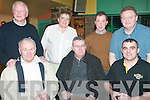 POKER CLASSIC: Some of the poker players who gathered for St. Brendan's H.C. poker classic on Friday night in Kirby's Brogue Inn seated l-r: Tom Kirby, Paul Hourgan and Fergal Kirby. Back l-r: Rupert Swan, Barney Mclaren, Timmy McCarty and Pat O'Shea.   Copyright Kerry's Eye 2008