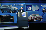 1/8/08,Las Vegas,Nevada  --- Rick Wagoner,.Chairman and CEO, General Motors delivers a keynote address for the 2008 International Consumer Electronics Show (CES) at the Venetian Resort in Las Vegas.  --- Chris Farina