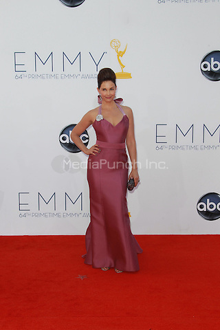 LOS ANGELES, CA - SEPTEMBER 23: Ashley Judd arrives at the 64th Primetime Emmy Awards at Nokia Theatre L.A. Live on September 23, 2012 in Los Angeles, California. Sherman / StarlitePics / MediaPunch Inc