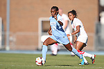 30 August 2013: North Carolina's Crystal Dunn. The University of North Carolina Tar Heels hosted the University of New Mexico Lobos at Fetzer Field in Chapel Hill, NC in a 2013 NCAA Division I Women's Soccer match. UNC won the game 2-1.