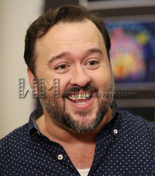 Brian Ray Norris during the Rehearsal Press Preview of the New Broadway  Musical on 'SpongeBob SquarePants'  on October 11, 2017 at the Duke 42nd Street Studios in New York City.