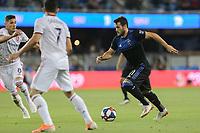 SAN JOSE, CA - JULY 06: Vako #11 during a Major League Soccer (MLS) match between the San Jose Earthquakes and Real Salt Lake on July 06, 2019 at Avaya Stadium in San Jose, California.