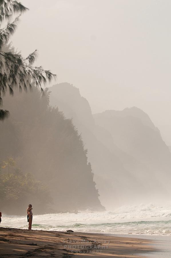 Ke'e Beach, North Shore, Hauai, Hawaii