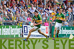 Michael Geaney, Kerry in action against  , Clare in the Munster Senior Championship Semi Final in Cusack Park, Ennis on Sunday.