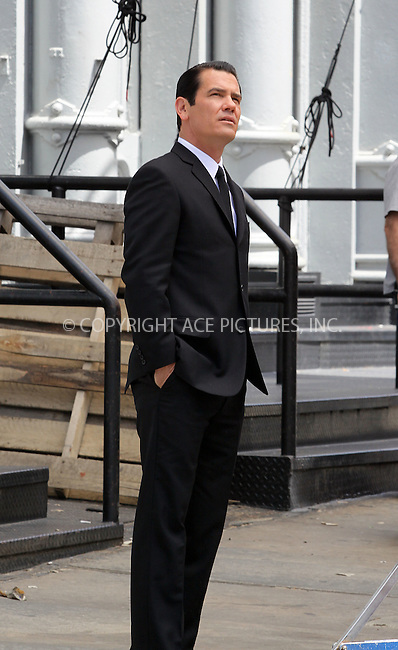 WWW.ACEPIXS.COM . . . . .  ....June 7 2011, New York City....Actor Josh Brolin on the set of Men in Black  in Soho on June 7 2011 in New York City....Please byline: CURTIS MEANS - ACE PICTURES.... *** ***..Ace Pictures, Inc:  ..Philip Vaughan (212) 243-8787 or (646) 679 0430..e-mail: info@acepixs.com..web: http://www.acepixs.com