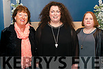 Bellecanto and Members of Killarney Musical Society l-r Judy Rezin, Brid Mills and Ailish Walsh pictured at Variety Concert in aid for Comfort for Chemo in the Killarney Heights Hotel last Saturday.