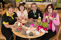 Pictured from left are ASDA West Bridgford knitting collegues Gillian Limbert, Christine Conway, Paul Guest and Jenny Pike