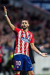 Yannick Ferreira Carrasco of Atletico de Madrid reacts during the La Liga 2017-18 match between Atletico de Madrid and Girona FC at Wanda Metropolitano on 20 January 2018 in Madrid, Spain. Photo by Diego Gonzalez / Power Sport Images