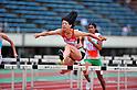 Fumie Takehara (JPN), JULY 8, 2011 - Athletics :The 19th Asian Athletics Championships Hyogo/Kobe, Women's Heptathlon 100mH at Kobe Sports Park Stadium, Hyogo ,Japan. (Photo by Jun Tsukida/AFLO SPORT) [0003]