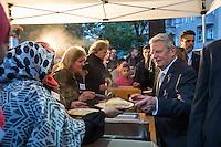 2016/06/13 Religion | Islam | Fastenbrechen mit Budespräsident Gauck