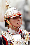 Royal Guard during a military parade marking the Armed Forces Day on June 2, 2012 in Valladolid.(ALTERPHOTOS/Acero)