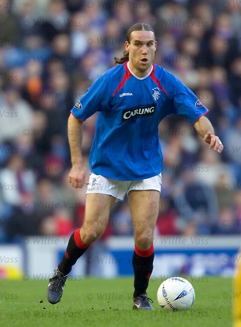 Dado Prso, Rangers.stock season 2004-2005.pic willie vass