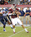 Temple Owls Chris Coyer (10) in action during a game against the Villanova Wildcats on August 31, 2012 at Lincoln Financial Field in Philadelphia, PA. Temple beat Villanova 41-10.