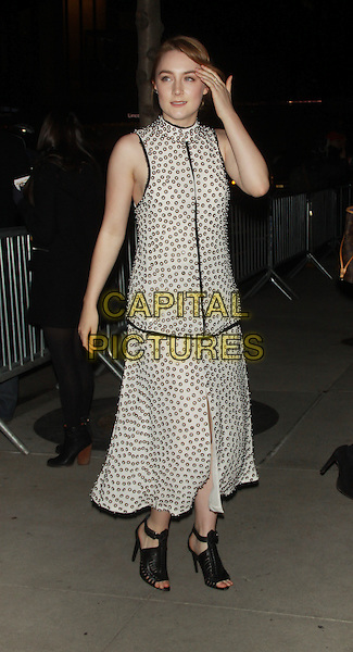 NEW YORK, NY - FEBRUARY 26 2014 -Saoirse Ronan at the premiere of the Grand Budapest Hotel at Alice Tully Hall Lincoln Center in New York .Credit: RW/MediaPunch<br /> CAP/MPI/RW<br /> &copy;RW/ MediaPunch/Capital Pictures