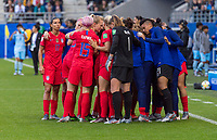 Reims, FRA - June 11, 2019:  The USWNT defeated Thailand 13-0 during their first group stage match at the FIFA Women's World Cup at Stade Auguste Delaune.