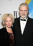Amy Irving and Kenneth Bowser attends the opening night performance of 'Sunday in the Park with George' at the Hudson Theatre on February 23, 2017 in New York City.