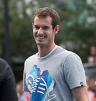 ANDY MURRAY (GBR)<br /> Tennis - Australian Open - Grand Slam -  Melbourne Park -  2014 -  Melbourne - Australia  - 19th January 2014. <br /> <br /> &copy; AMN IMAGES, 1A.12B Victoria Road, Bellevue Hill, NSW 2023, Australia<br /> Tel - +61 433 754 488<br /> <br /> mike@tennisphotonet.com<br /> www.amnimages.com<br /> <br /> International Tennis Photo Agency - AMN Images