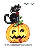 Interlitho, STILL LIFE STILLLEBEN, NATURALEZA MORTA, paintings+++++,KL4473/2,#i# stickers,halloween, pumpkin,